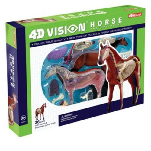 Tedco Toys 4D Vision Horse Anatomy Model (Tdcty328)