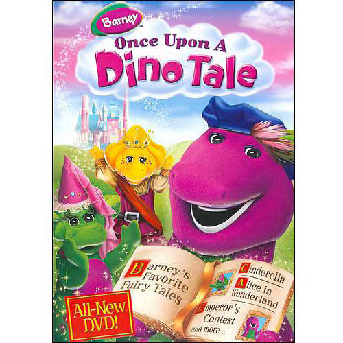 Barney: Once Upon a Dino Tale [DVD] [Eng/Spa] [2009]