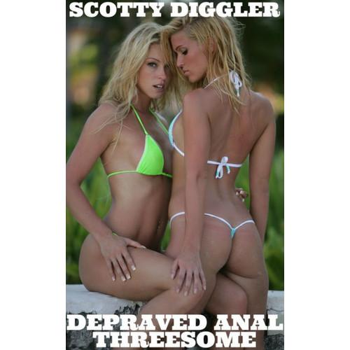 Depraved Anal Threesome