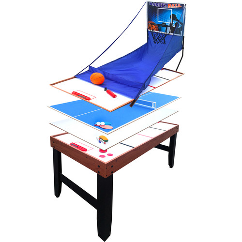 Hathaway Accelerator 54-in 4-in-1 Multi-Game Table