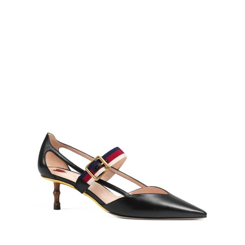 GUCCI Unia Ribbon Pointed Toe Pumps
