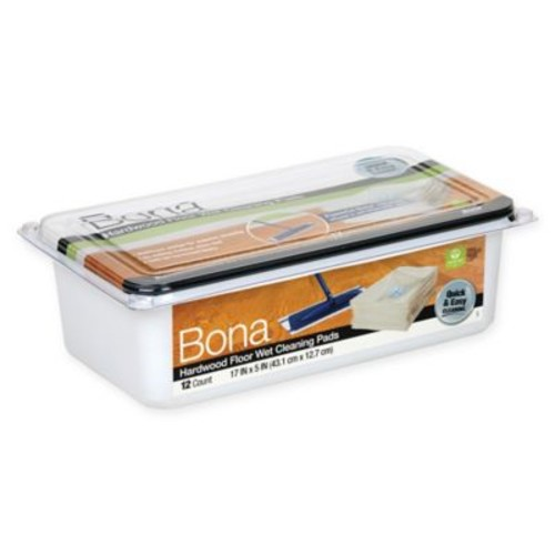 Bona Hardwood Floor 12-Pack Wet Cleaning Pads