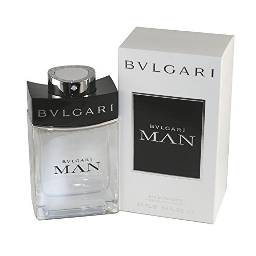 Bvlgari Man Eau de Toilette Spray for Men, 3.4 Fluid Ounce