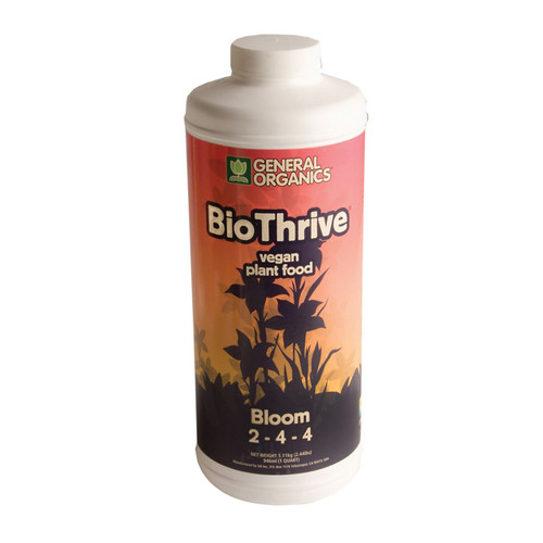 General Hydroponics HYFGH5132 BioBloom - Quart