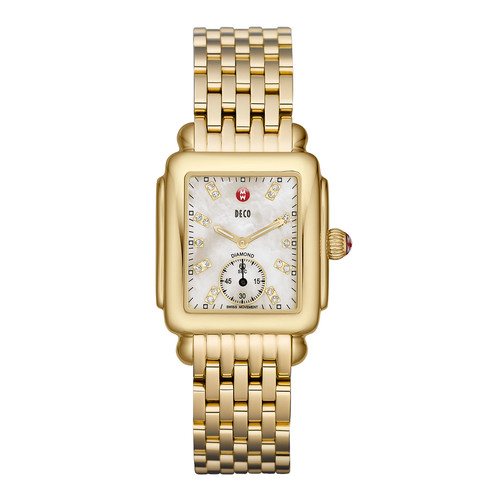 16mm Deco Diamond Dial Watch Head, G