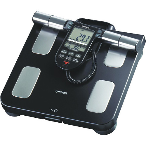 Omron - Full Body Sensor Body Composition Monitor and Scale - Black