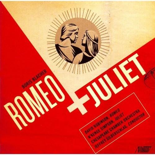 Boris Blacher: Romeo and Juliet [CD]