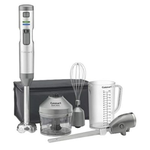 Cuisinart Smart Stick Cordless Rechargeable Hand Blender, Stainless Steel