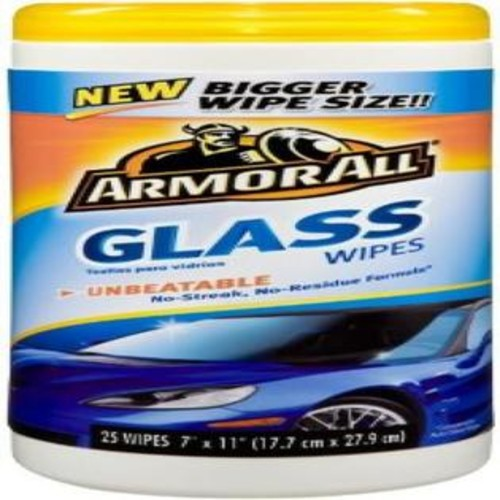 WARREN DISTRIBUTION Armor All Glass Wipes 25 ct (Pack of 6)