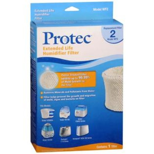 Protec Extended Life Humidifier Filter Model WF2, 1 Count