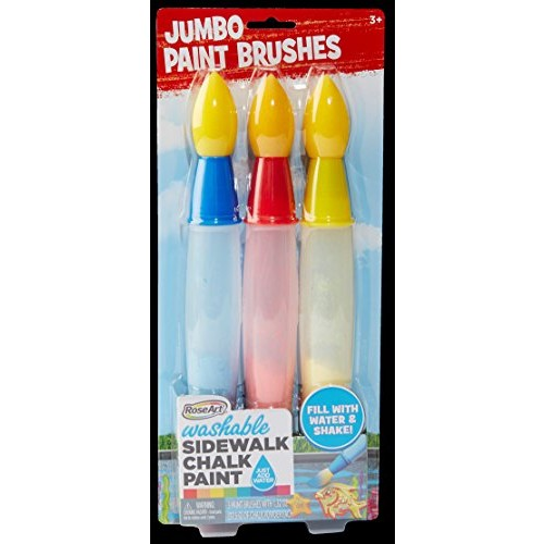 RoseArt Side Walk Chalk Jumbo Paint Brush