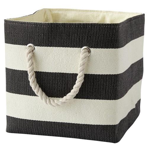 Black Stripes Around the Cube Bin