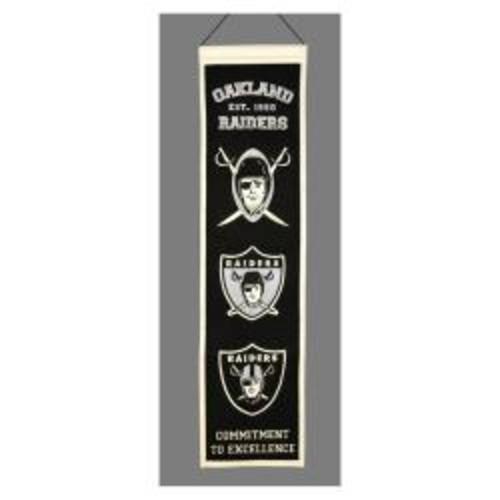 Los Angeles Lakers Wool Heritage Banner