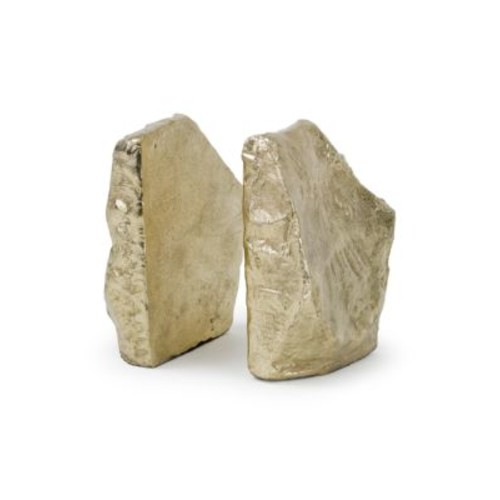 Two-Piece Rock Bookends Set