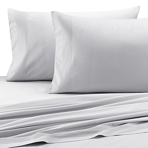 Barbara Barry Dream Pintuck Sateen King Pillowcase Pair in Fountain