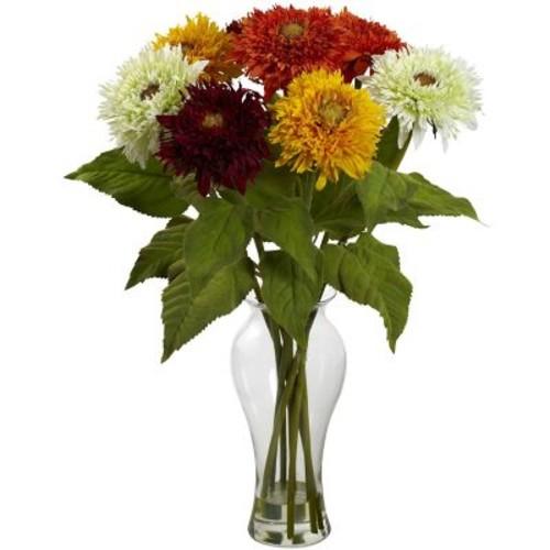 Nearly Natural Sunflower Arrangement