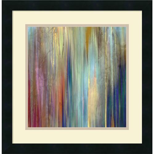 Framed Art Print 'Sunset Falls II' by John Butler 18 x 18-inch