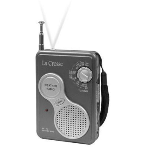 La Crosse Hand Held NOAA Weather Radio - 809-905