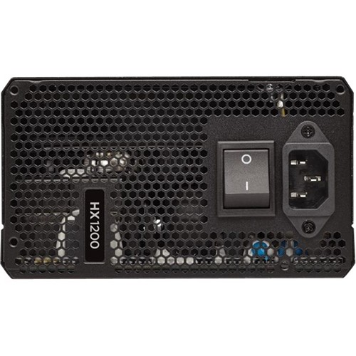 CORSAIR - HX Series 1200W ATX12V 2.4/EPS12V 2.92 Modular Power Supply - Black