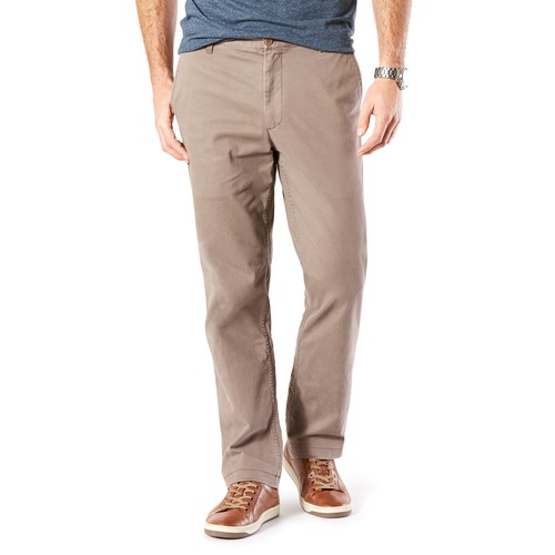 Big & Tall Dockers D3 Classic-Fit Washed Khaki Flat-Front Pants