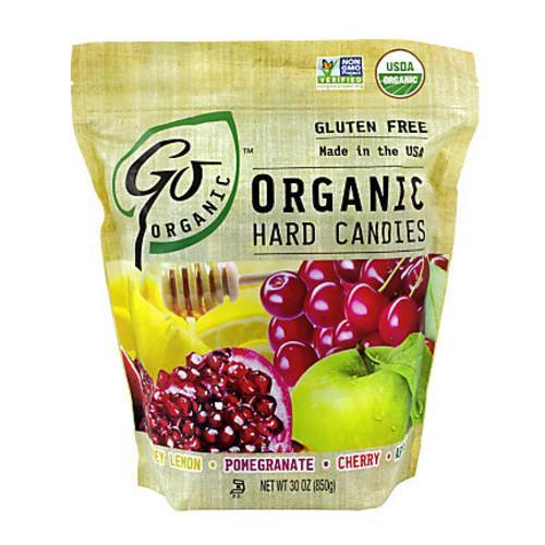 Organic Hard Candies, 30 Oz Tub