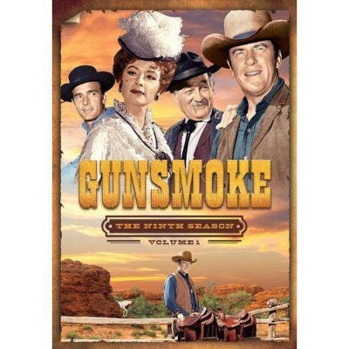 Gunsmoke: The Ninth Season, Vol. 1 [5 Discs]