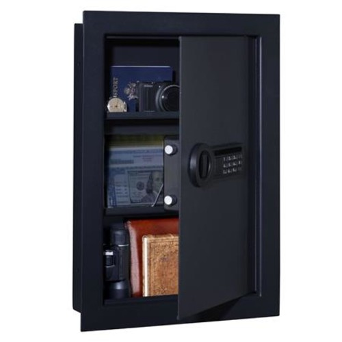 Stack-On In-Wall Safe with Electronic Lock and 2x Removable Shelves PWS-15522