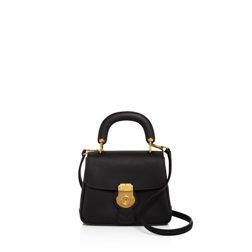DK88 Top Handle Small Leather Satchel