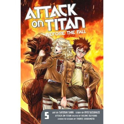 Attack on Titan 5: Before the Fall