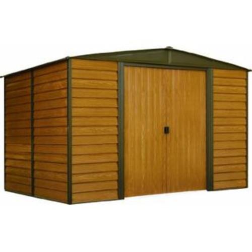 Arrow WR1012 Woodridge EG Steel Storage Shed, 10 by 12-Feet