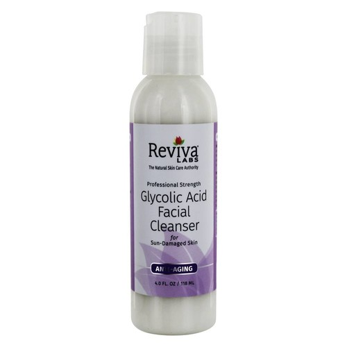 Reviva Labs - Professional Strength Glycolic Acid Anti-Aging Facial Cleanser - 4 fl. oz.