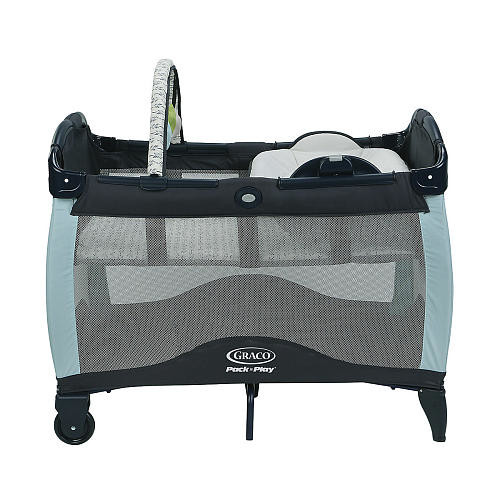 Graco Pack 'n Play Playard With Reversible Newborn Napper Station & Changing Table LX - Etho