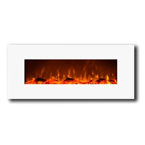50 in. Houston Electric Wall Mounted Fireplace