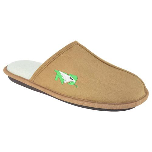 Men's North Dakota Fighting Hawks Scuff Slipper Shoes