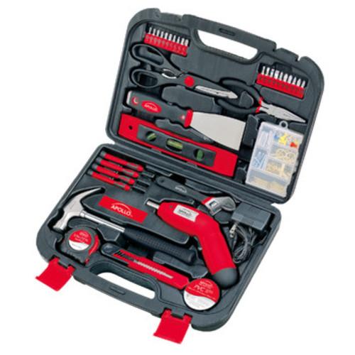 Apollo Tools 135 Piece Household Tool Kit