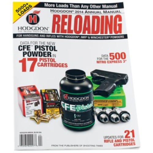 Hodgdon 2015 Annual Reloading Manual