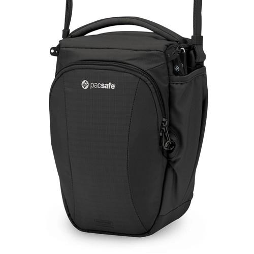PacSafe Camsafe V6 anti-theft camera top loader bag, Black