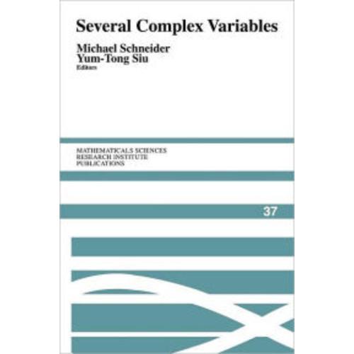 Several Complex Variables