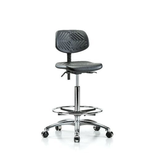 Industrial Low-Back Drafting Chair