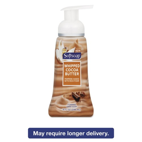 Softsoap Sensorial Foaming Hand Soap, 8 oz Pump Bottle, Whipped Cocoa Butter, 6/Carton | PJP Marketplace