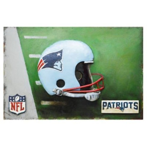 Imperial NFL Metal Painting; New England Patriots