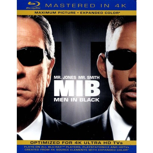 Men in Black [Includes Digital Copy] [UltraViolet] [Blu-ray] [1997]