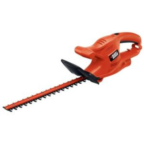 BLACK+DECKER 16 in. 3.0-Amp Corded Electric Hedge Trimmer