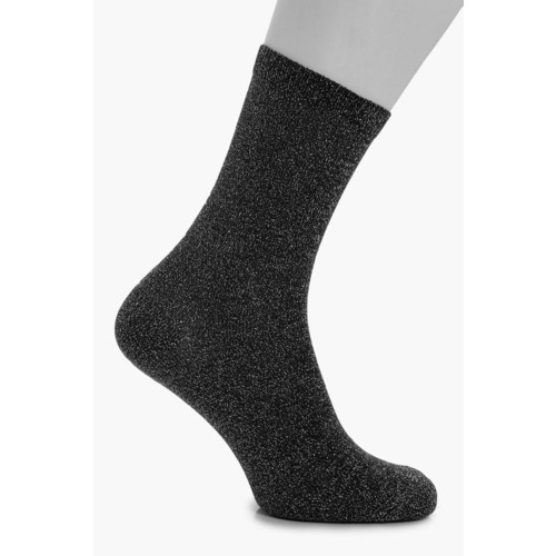 Sarah Sparkle Stripe Ankle Socks