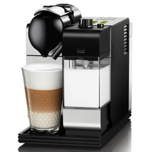 DeLonghi Silver Lattissima Plus Nespresso Capsule System [Stainless Steel]