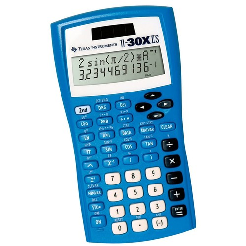 Texas Instruments TI30XIIS Scientific Calculator - Black