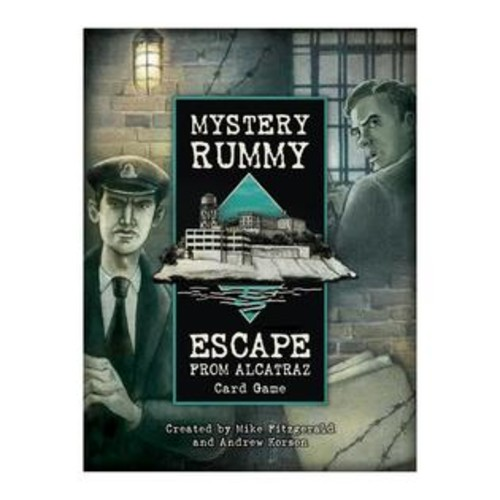 US Games Systems Mystery Rummy Escape from Alcatraz Card Game