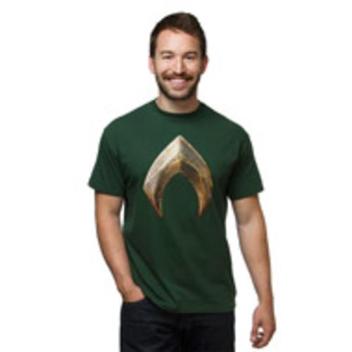Justice League Aquaman T Shirt Green XL