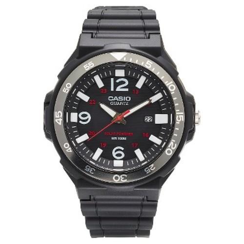 Men's Casio Solar-Powered Watch - Black