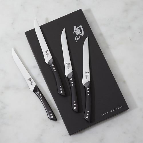 Shun  Shima Steak Knives, Set of 4